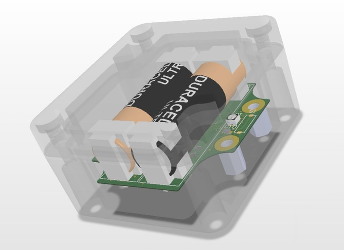 3-D Rendering of the Sensor Design