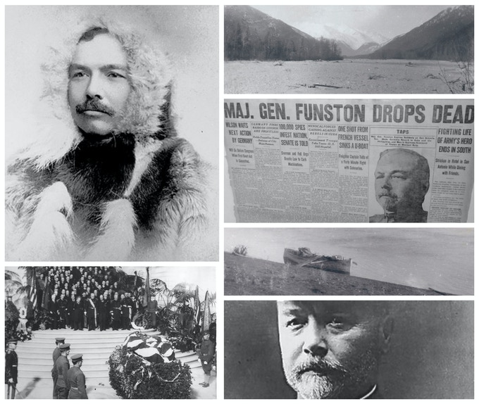 Frederick Funston's 1894 Alaskan crossing and his untimely death