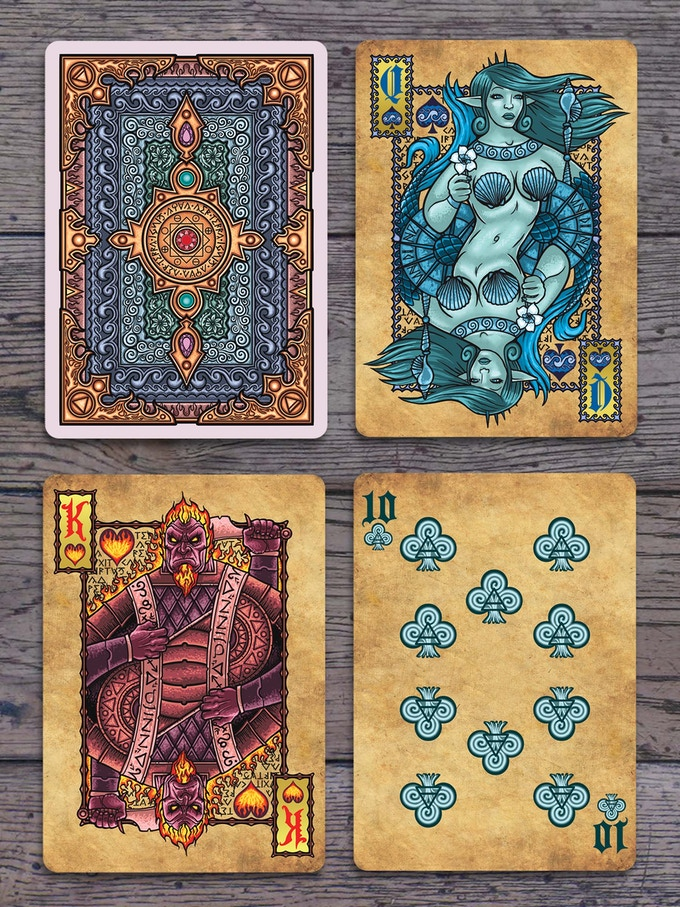 Elemental Magick Cards