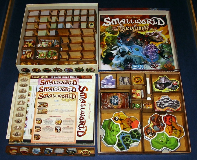 Small World (and expansions listed above) with Enhanced Storage Set