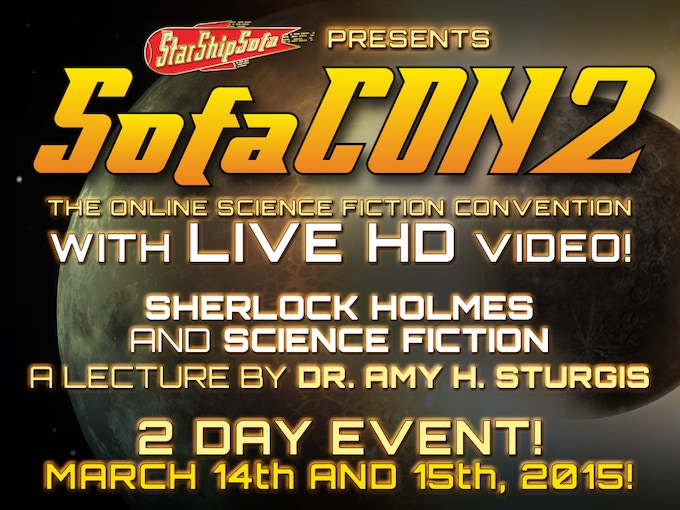 Science Fiction and Sherlock Holmes with Dr Amy H. Sturgis
