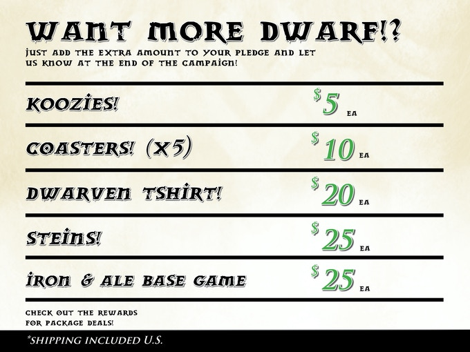GET MORE DWARVEN! (U.S. ONLY)