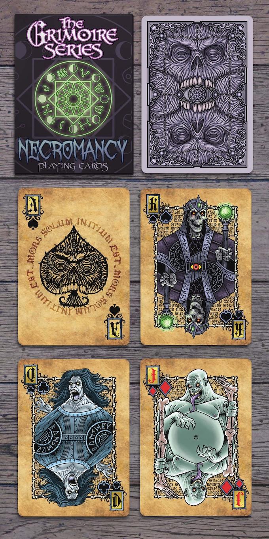 Necromancy Deck Cards