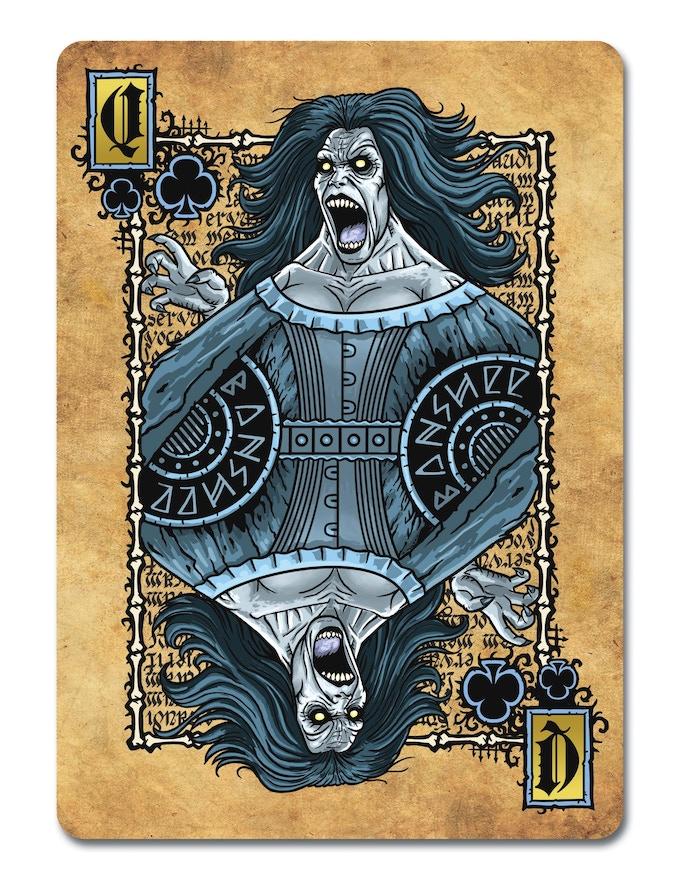 Necromancy Banshee, Queen of Clubs