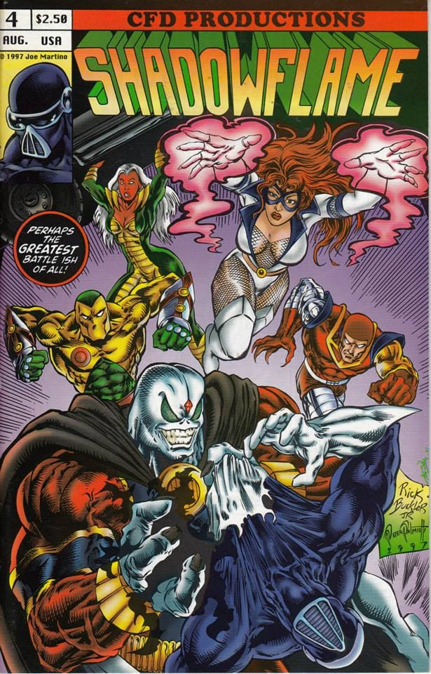 The Cyberines first appeared in the Shadowflame mini-series from 1996.