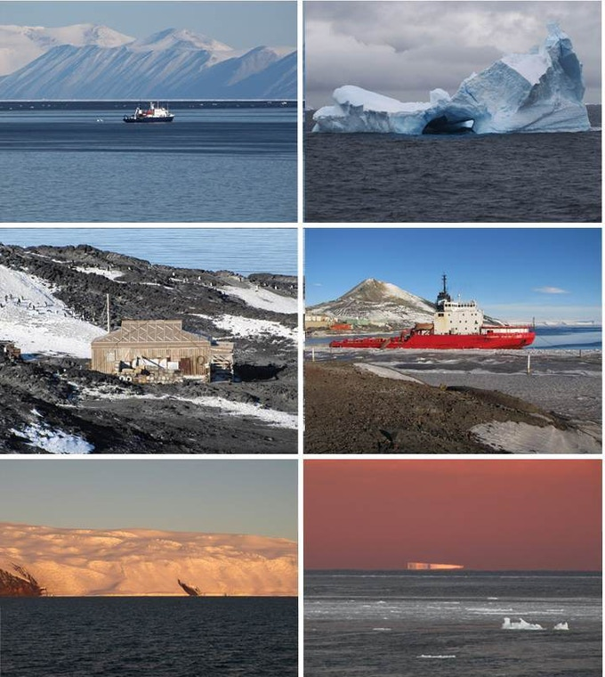 Lionel Carter's beautiful images from Antarctica and the Southern Ocean