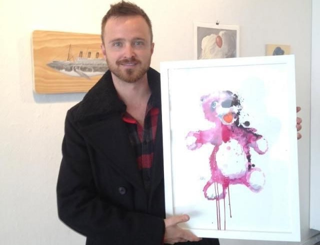 Pink Bear, 2012 (Created for AMC's Breaking Bad Collaboration with Gallery 1988)