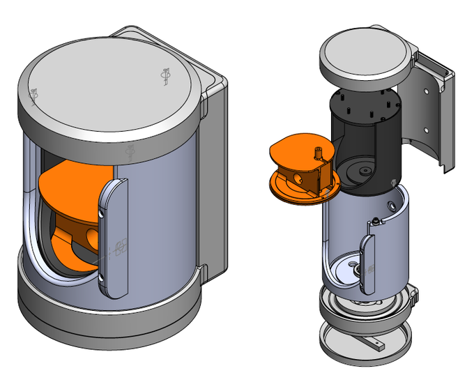 Final design for the prototype