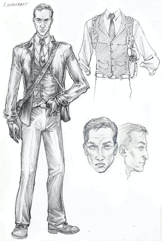 Lovecraft Character Sketch