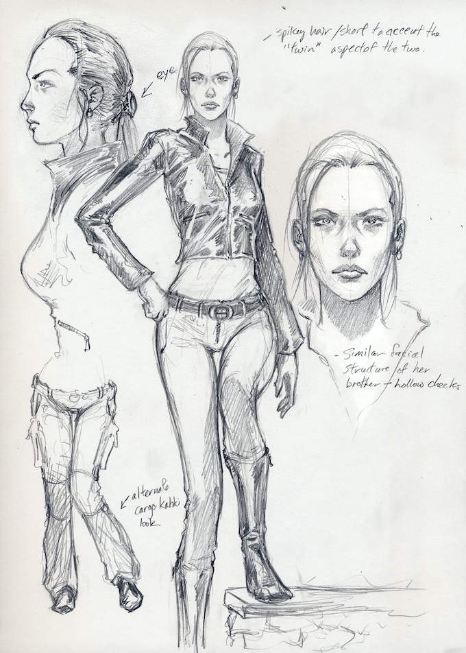 Jane Crowley Character Sketch
