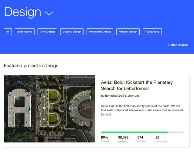 Aerial Bold: Kickstart the Planetary Search for Letterforms! by