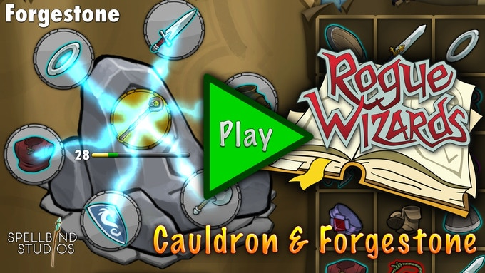 Item Systems: Cauldron & Forgestone
