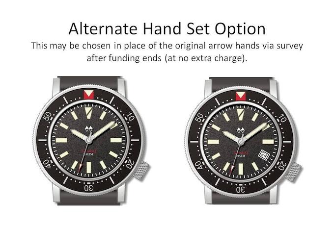 New hand set option.