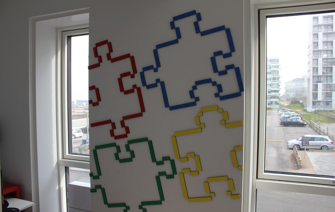 No worries if the design does not fit the wall.