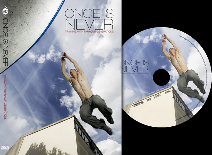 DVD: Once is Never signed by Parkour Generations exclusive for R.u.N. Kickstarter Campaign.
