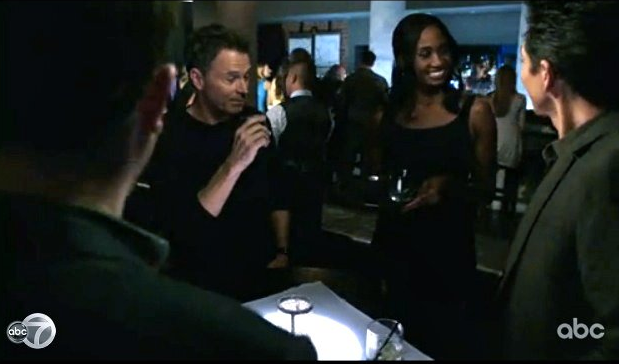 Ajarae pictured on ABC's PRIVATE PRACTICE with Tim Daly and Benjamin Bratt