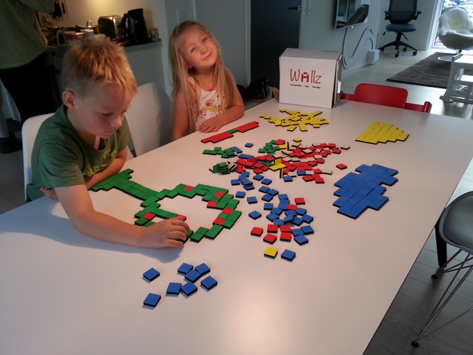 You can also create your design on a table, take a picture of it and use it as a template.