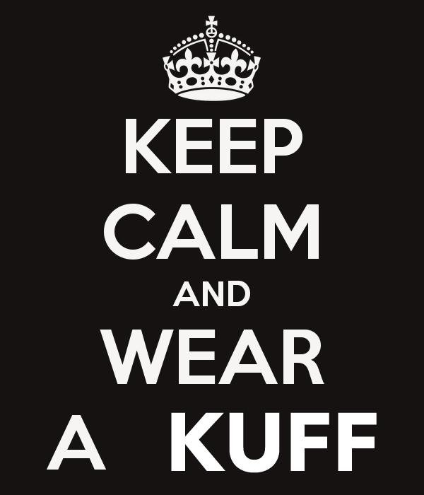 KUFF Keep Calm poster