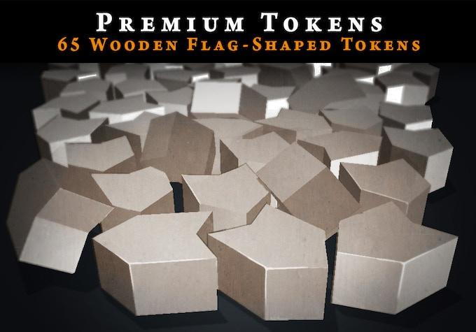 Premium Tokens included in the Premium Version of DAZ