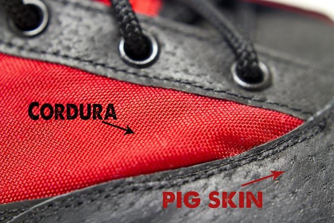 Cordura and Pig Skin