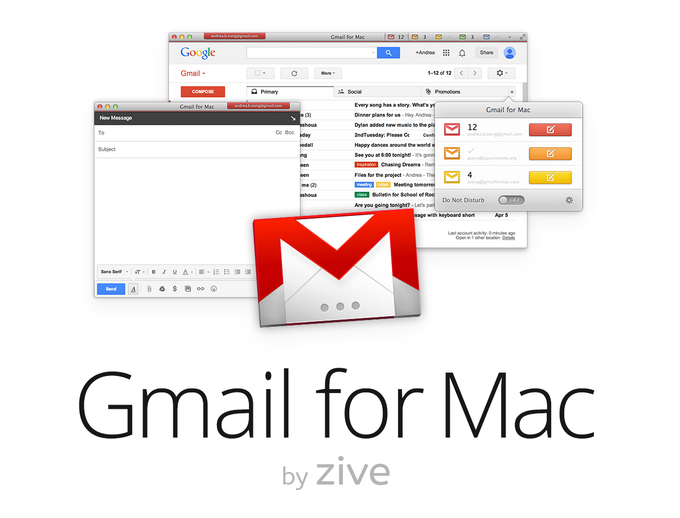 how to get gmail icon on mac desktop