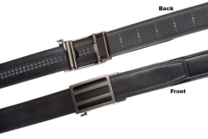 Backside / Frontside  -  Newport  gunmetal buckle