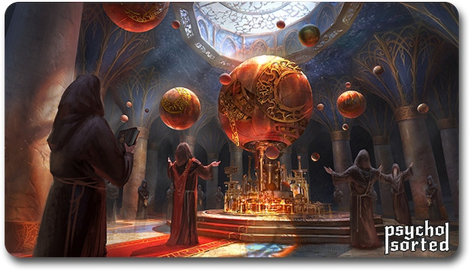 Morningstar Temple Orrery
