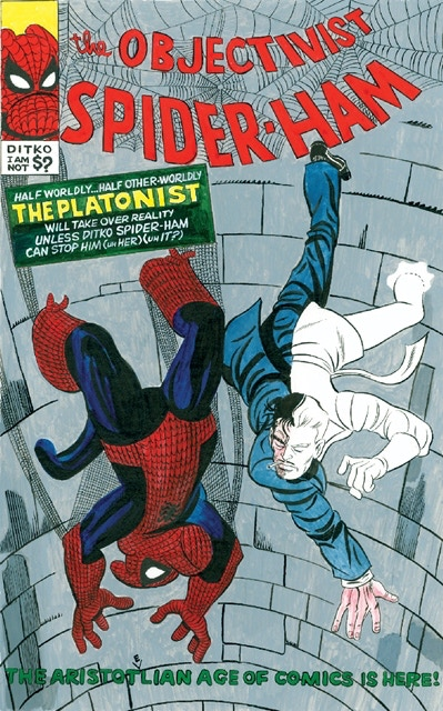 "BP #21 - 8 1/2"" x 11"" color print of Spider Ham"