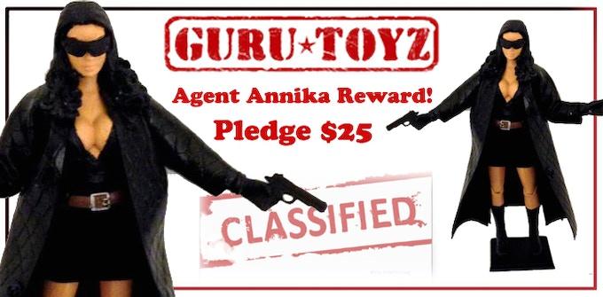 Guru Toyz Agent Annika Action Figure Reward!