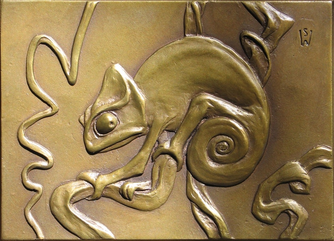 Chameleon 1 by Steve Worthington