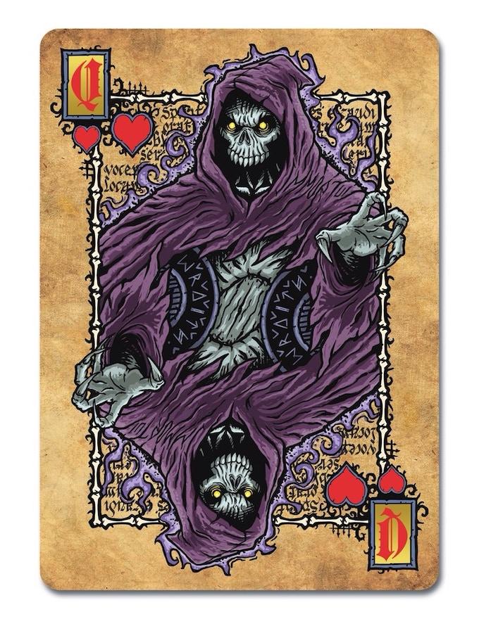 Necromancy Wraith - Queen of Hearts