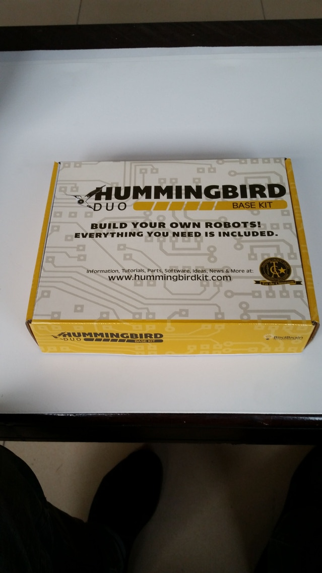 Hummingbird Duo: A Robotics Kit for Ages 10 to 110 by