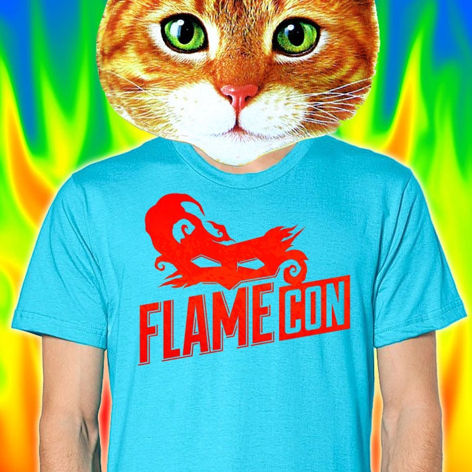 $50 - The Blue Flame limited-edition tee shirt, only available for our $50 Kickstarter backers!