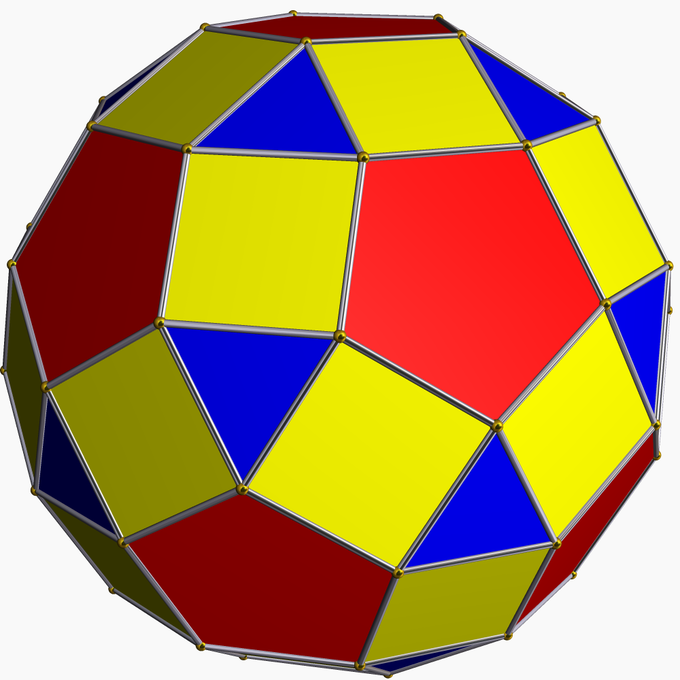 rhombicosidodecahedron