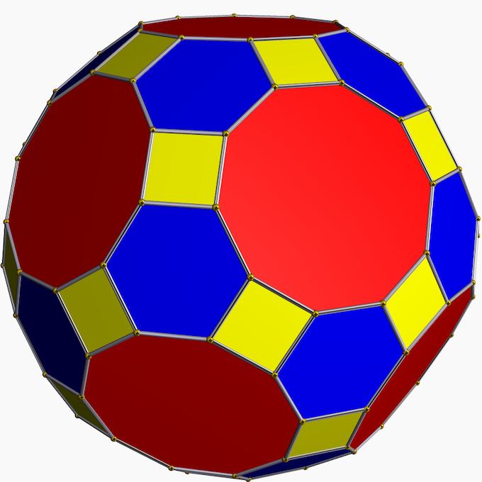 truncated icosidodecahedron