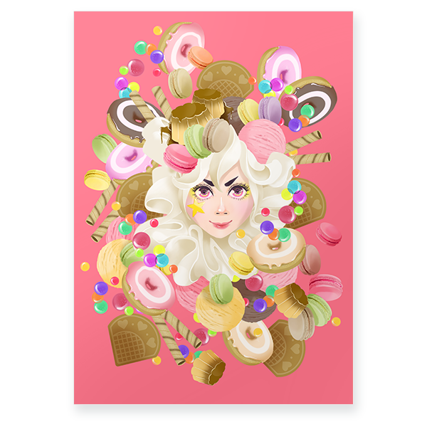 CANDY CANDY Poster