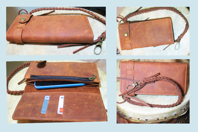 Pledge $63.00 Cowhide Rocker Wallet (Only 20 of these!)