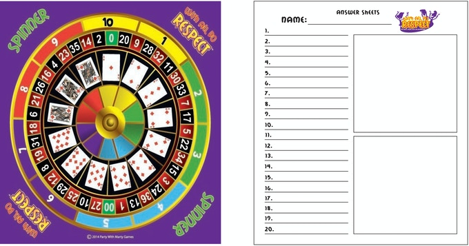 With All Do Respect - Spinner Wheel & Answer Pad