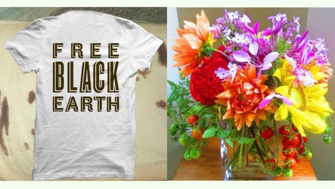 Send a Farm-to-Vase big bouquet to someone special and receive our exclusive t-shirt at the $180 pledge level.