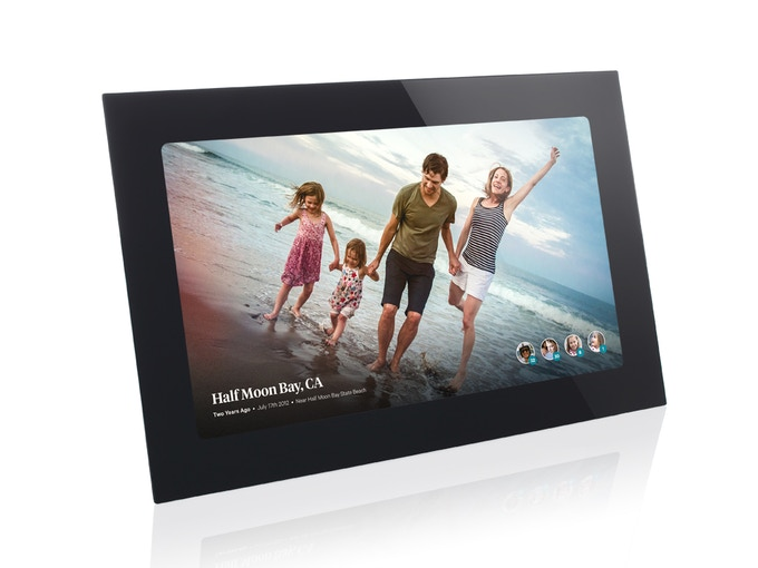 Fireside SmartFrame (Black) - Front View