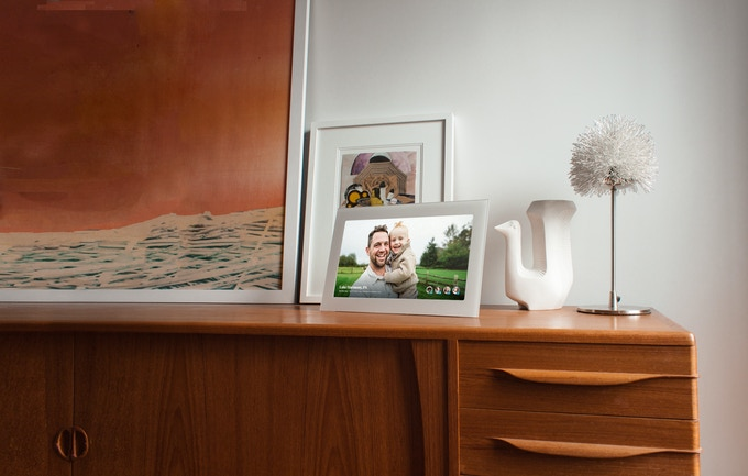 SmartFrame is designed to blend into the home.