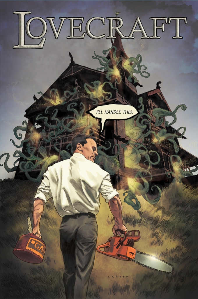Lovecraft cover by Lewis LaRosa