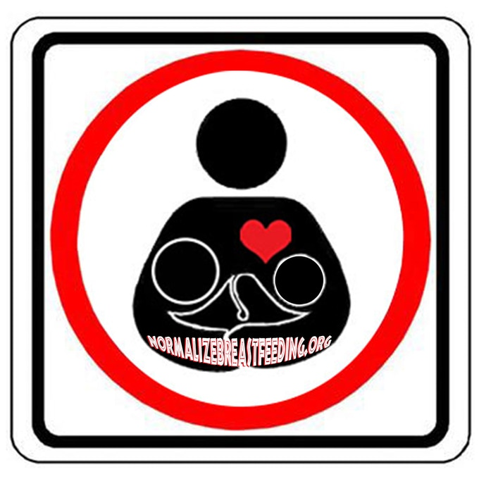 Logo - An International Sign to Normalize Breastfeeding