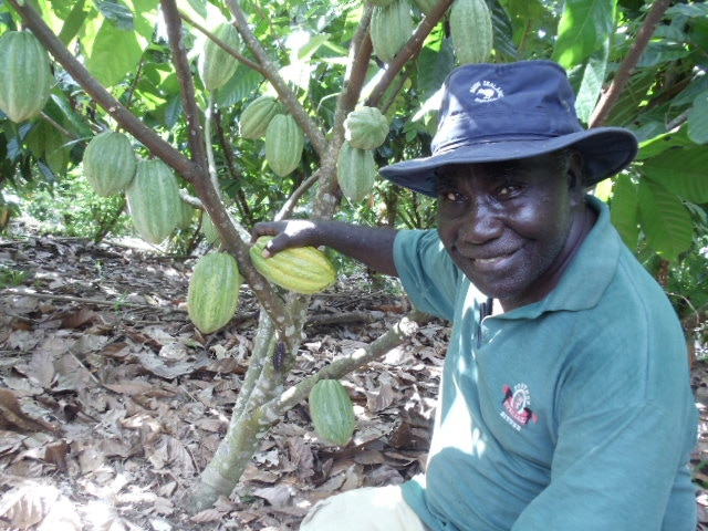 James Rutana - cocoa growing legend and our good friend