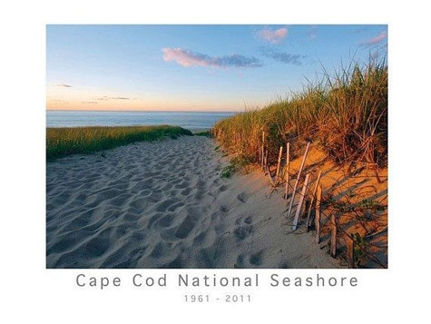 "From our ""Rewards"" collection: The Cape Cod National Seashore 50th Annniversary poster by Christopher Seufert, signed by the photographer."
