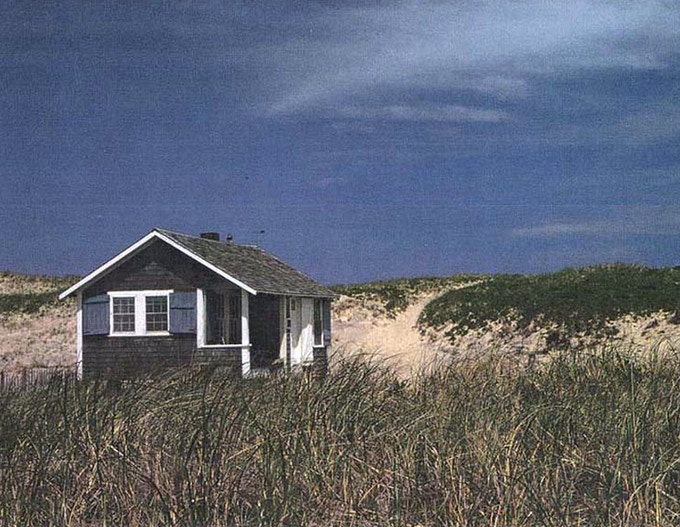 """The Fo'castle"" photo by Nan Turner Waldron. The author of ""Journey to Outermost House"" took this and many other images of Beston's cottage during the 1960s and 70s. Available for photo and canvas prints in our ""Rewards"" section!"