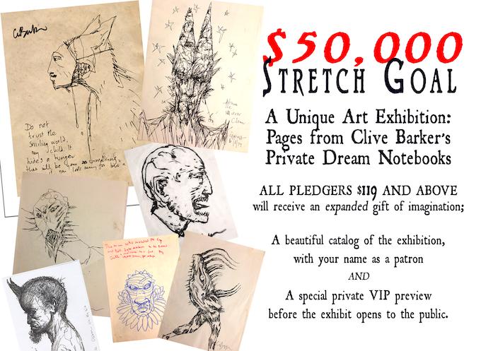 Stretch goal- if we reach $50,000...