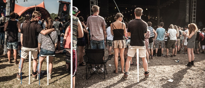 Sitpack - Great for concerts and festivals. The best festival chair