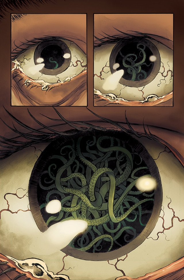 A sample page from Lovecraft