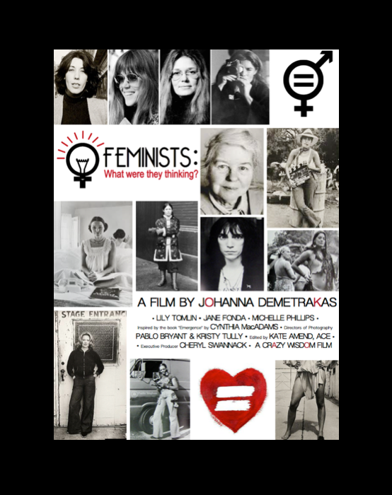 "Official ""FEMINISTS: What were they thinking?"" Kickstarter Poster"